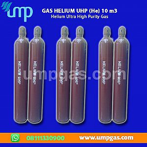 Jual Gas Helium (He) UHP - 10m3